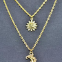 90's Sun/Moon Necklace from Nereus London