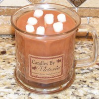 Candles By Victoria ~ Hot Coco & Marshmallow Candle