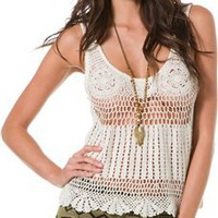 BILLABONG SHAYLA CROCHET KNIT TANK | Swell.com
