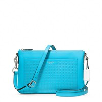 Coach :: Legacy Perforated Leather East/west Swingpack