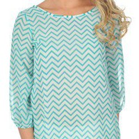 Bowdacious Babe in Chevron - New Arrivals