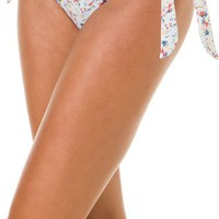 QUIKSILVER MORNING BLOOMS TIE SIDE BIKINI BOTTOM | Swell.com