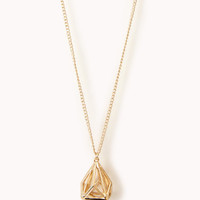Cutout Geo Necklace