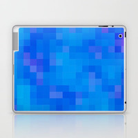Re-Created Colored Squares No. 60 Laptop & iPad Skin by Robert Lee