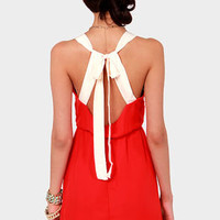 Honey Dipper Red Dress