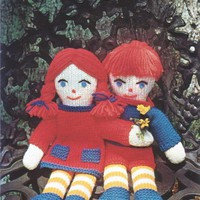 Knit Boy & Girl Dolls Pattern pattern on Craftsy.com