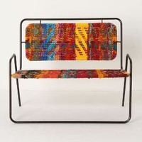 Airy Settee - Anthropologie.com