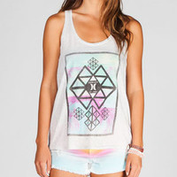 HURLEY Palm Tree Vacation Womens Tank