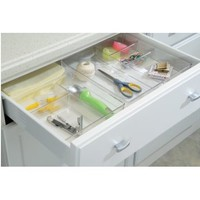 InterDesign Linus Grand Drawer Organizer, Clear