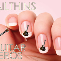 GUITAR HEROS Logo Nail Art  Nail  Decal  Nail Design