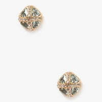 Trilliant Cross Studs | FOREVER 21 - 1031557639