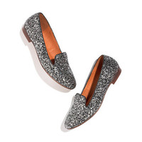 The Teddy Loafer in Glitter - AllProducts - Sale - Madewell