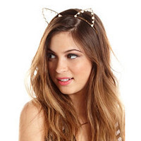 Pearl Cat Ear Headband: Charlotte Russe