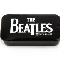 Planet Waves Beatles Signature Guitar Pick Tins, Logo, 15 picks:Amazon:Musical Instruments