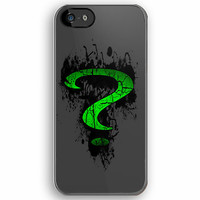 Batman the riddler sign logo Art apple iphone 5, iphone 4 4s, iPhone 3Gs, iPod Touch 4g case by Pointsalestore .com
