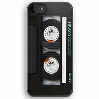 Sony Mix cassette tape iphone 5, iphone 4 4s, iPhone 3Gs, iPod Touch 4g case by Pointsalestore .com