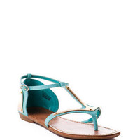 ZiGi girl Arrow T-Strap Sandal in Mint