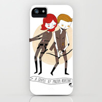 A Couple of Master Assassins iPhone & iPod Case by Nan Lawson