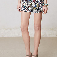 Buttoned &amp; Blossomed Sailor Shorts