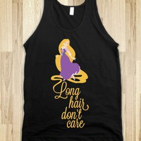 Long Hair Don't Care Tank - Movies and Television - Skreened T-shirts, Organic Shirts, Hoodies, Kids Tees, Baby One-Pieces and Tote Bags
