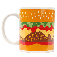 MKLCollective Home Goods Mug Burger