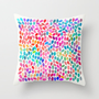 Rain 8 Throw Pillow by Garima Dhawan