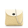 Beach straw woven clutch | mini shoulder bags for womens
