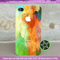 Art Abstract Paint for iPhone 4-4s, iPhone 5, Samsung S3, S2 edtion 9