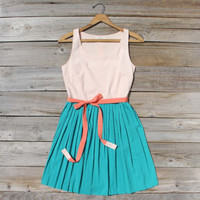 Apricot Fields Dress, Sweet Women's Summer Dresses