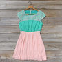 Mint Sprig Dress, Sweet Women's Summer Dresses