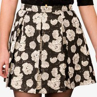 Holiday Brocade Skirt