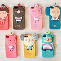 Cute Bunny Soft Case for iPhone