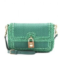 mytheresa.com -  Dolce & Gabbana - RAFFIA SHOULDER BAG - Luxury Fashion for Women / Designer clothing, shoes, bags