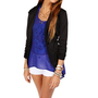 Black 34 Knit Blazer
