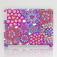 My happy flowers iPad Case by Juliagrifol designs