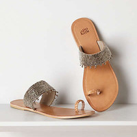 Anthropologie - Banded Mercury Slides