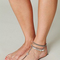 Metal Chain Foot Jewelry at Free People Clothing Boutique