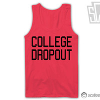 COLLEGE Dropout Tank Top x Singlet 037