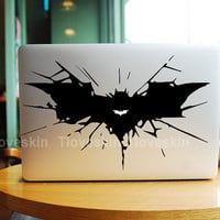 Big Batman Logo-Macbook Decal Macbook Stickers Mac Cover Skins Vinyl Decals for Apple Laptop Macbook Pro Air Uniboday Partial Skin