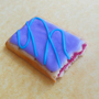 polymer clay wild berry pop tart magnet