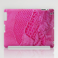 Pink iPad Case by Irène Sneddon