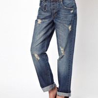 Denim Boyfriend Jeans
