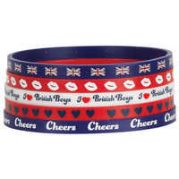 British Boys Bracelet Set