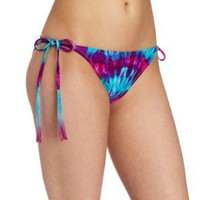 Bikini Lab Women's Tie Dye String Bottom:Amazon:Clothing