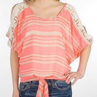 Daytrip Cold Shoulder Top - Women's Shirts/Tops | Buckle