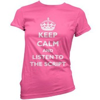 Keep Calm and listen to The Script - Womens T-Shirt - 11 Colours: Amazon.co.uk: Clothing