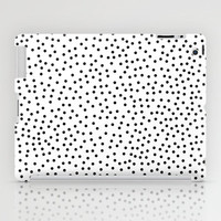 Dots.. iPad Case by Priscila Peress