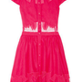 Alice + Olivia | Papina embroidered cutout cotton dress | NET-A-PORTER.COM