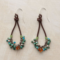 TURQUOISE TANGO EARRINGS