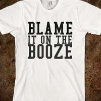 Blame it on the Booze - Neon Sushi Tees - Skreened T-shirts, Organic Shirts, Hoodies, Kids Tees, Baby One-Pieces and Tote Bags